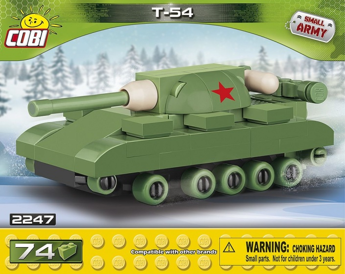 Cobi Small Army T 54 Tank bouwset 74 delig 2247