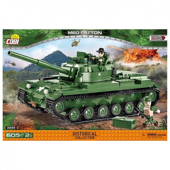 Cobi bouwpakket Vietnam War M60 Patton jongens groen 605 delig