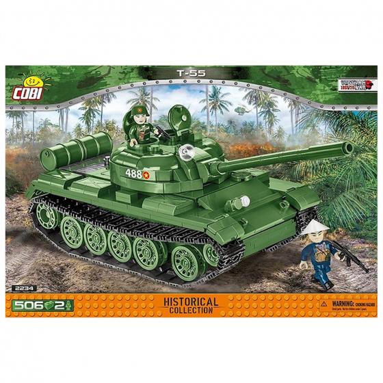 Cobi bouwpakket Vietnam War T 55 jongens groen 506 delig
