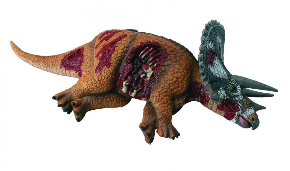Collecta Prehistorie: Triceratops Prooi