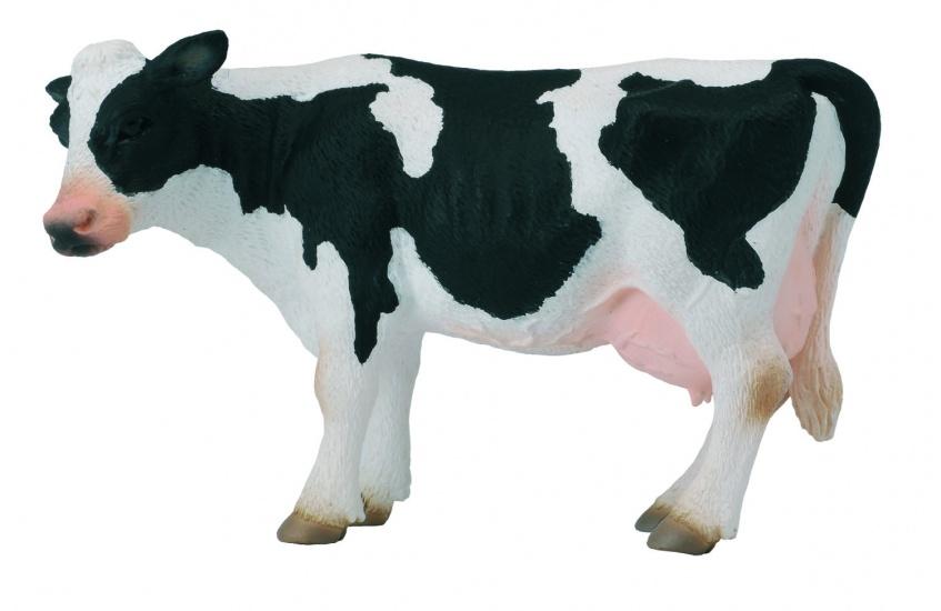 Collecta Boerderijdieren: Friese Koe 12,5 X 6,5 cm