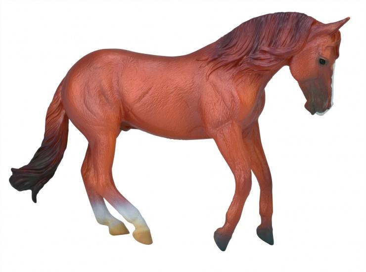Collecta Paarden Hengst Kastanjebruin 15 X 10 cm