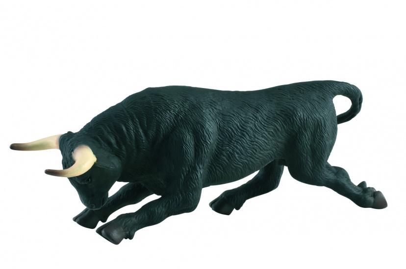 Collecta Boerderijdieren: Zwarte Vechtstier 15,5 X 4,6 cm