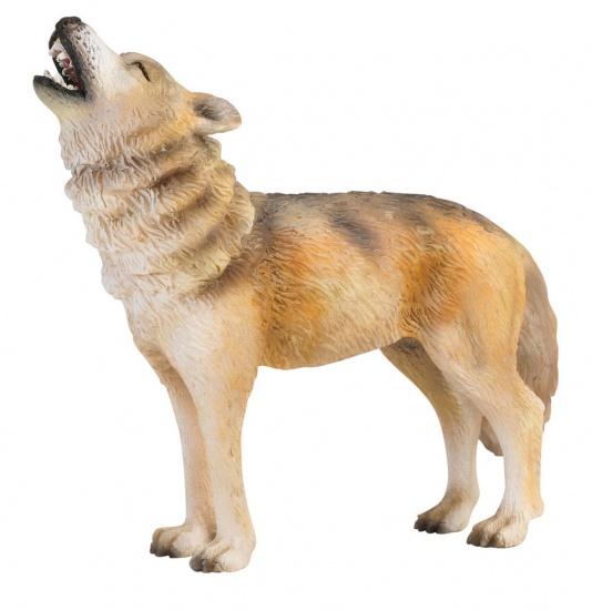 Collecta Bosdieren: Wolf Huilend 9 X 2,8 cm