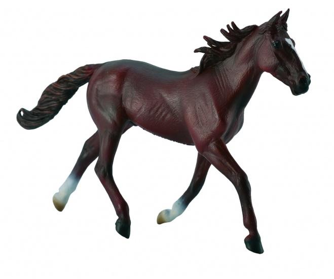 Collecta Paarden Hengst Kastanjebruin 18,5 X 11,3 cm
