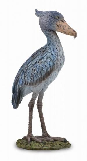 Collecta schoenbekooievaar 10,7 x 9,3 cm grijs
