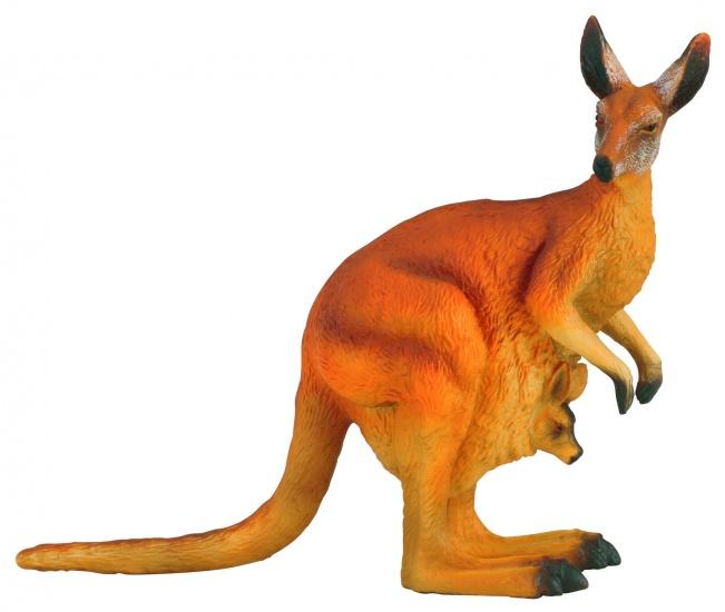 Collecta Wilde Dieren Kangoeroe 12.5 x 4.7 cm