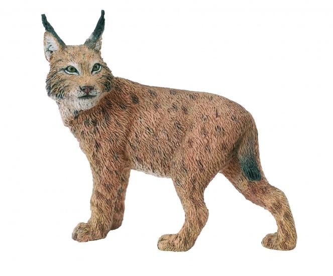 Collecta Wilde Dieren Lynx 7.3 X 6.3 cm