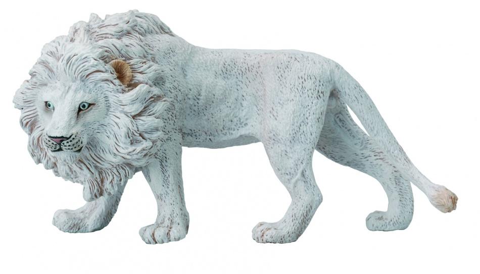 Collecta Wilde Dieren Witte Leeuw 12.7 x 6.3 cm