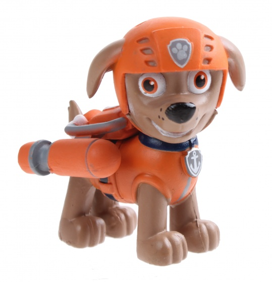 figure of play Paw Patrol: Zuma 8 cm orange