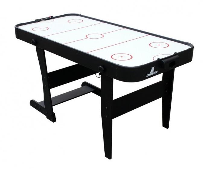 Cougar airhockeytafel Icing opvouwbaar 152 x 73 x 79 cm