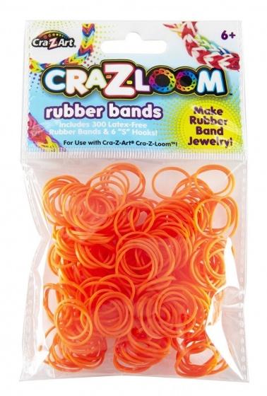 Cra Z Art loombandjes Loom Bands refill pack 300 stuks oranje