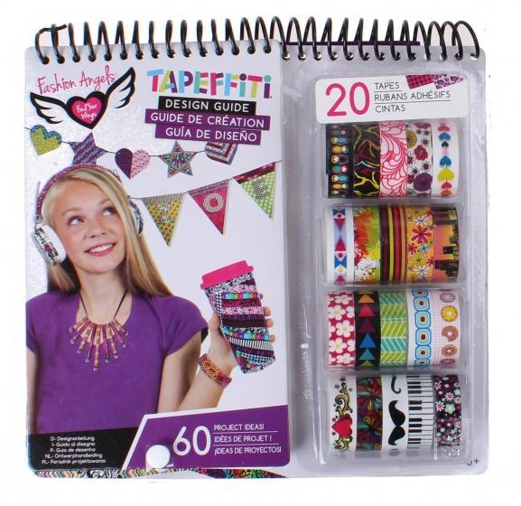 Crayola Fashion Angels Designguide Tapeffiti Junior 25 Piece Internet Toys
