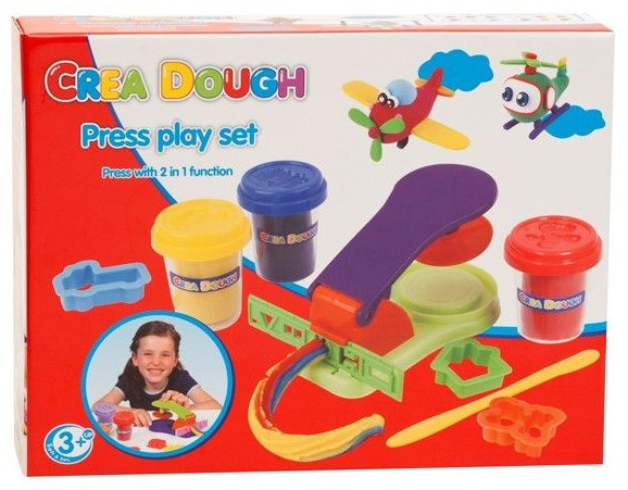 Crea Dough Press Play kleiset 3 kleuren