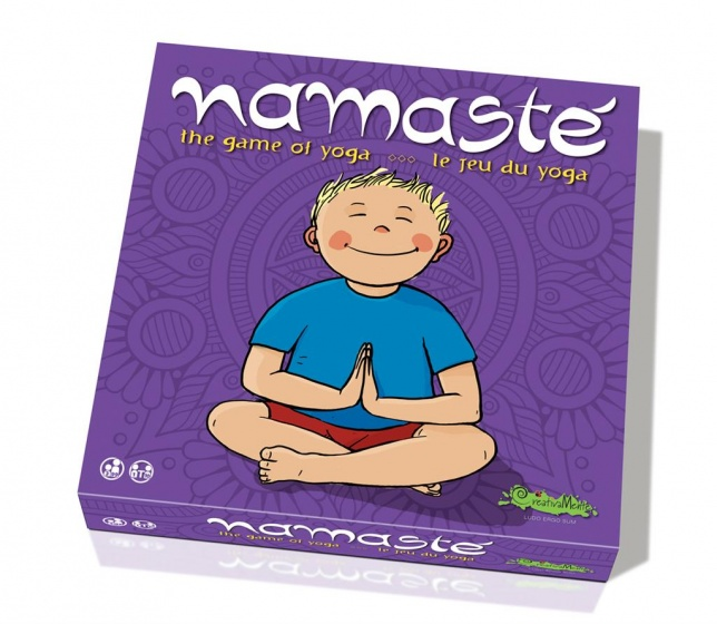 CreativaMente The game of yoga Namast� 28 x 28 cm