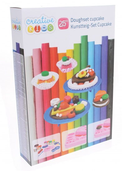 Creative Kids Klei Cupcakeset 25 delig