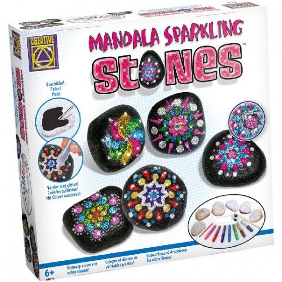 Creative Mandala Sparkling Stones
