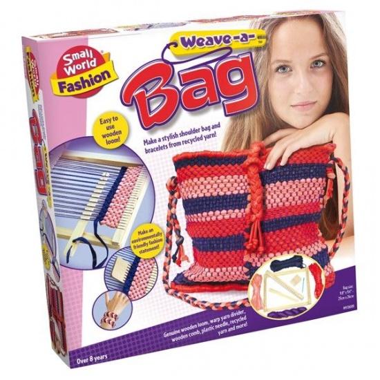Creative Weave a Bag maak jouw eigen tas