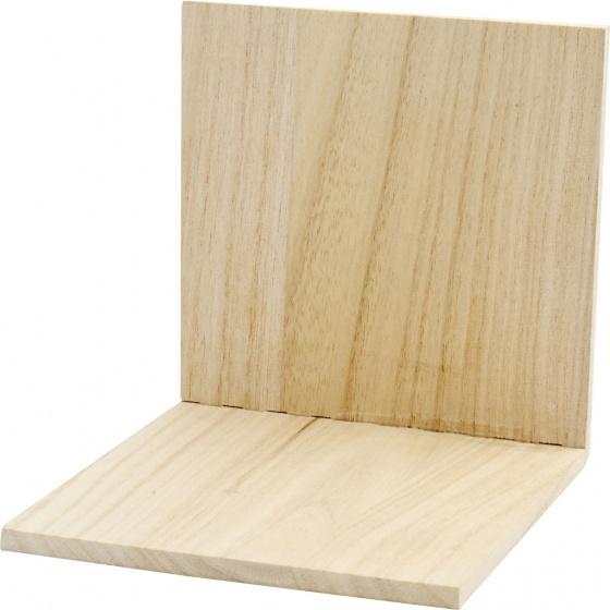 Creotime Boekensteun hout 15 cm