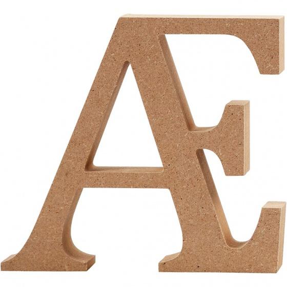 Creotime houten letter � 13 cm