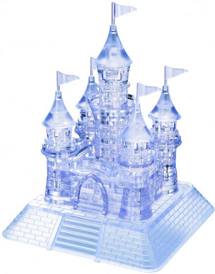 Crystal Puzzle 3D puzzel Kasteel transparant 105 delig