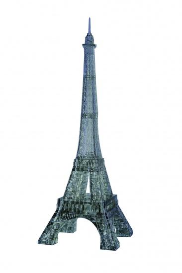 Crystal Puzzle 3D Eiffeltoren Zwart: 96 Delig
