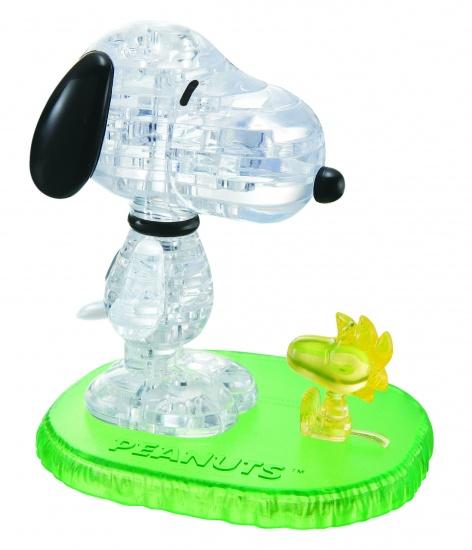 Crystal Puzzle 3D Snoopy en Woodstock: 41 Delig