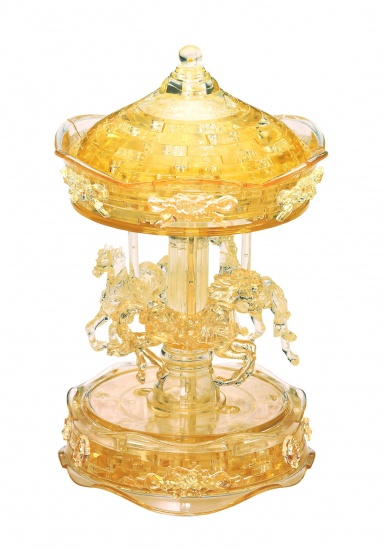 Crystal Puzzle 3D Carrousel 83 Delig
