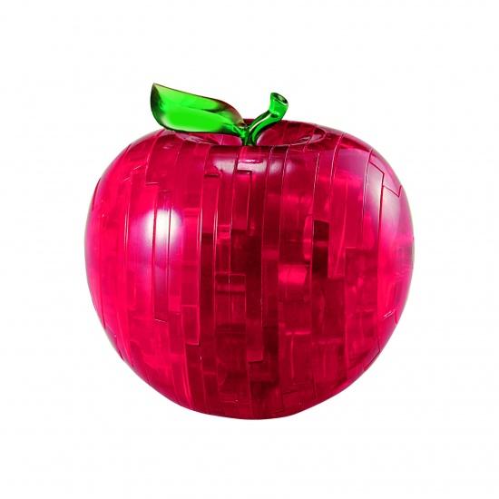 original 3d crystal puzzle apple instructions