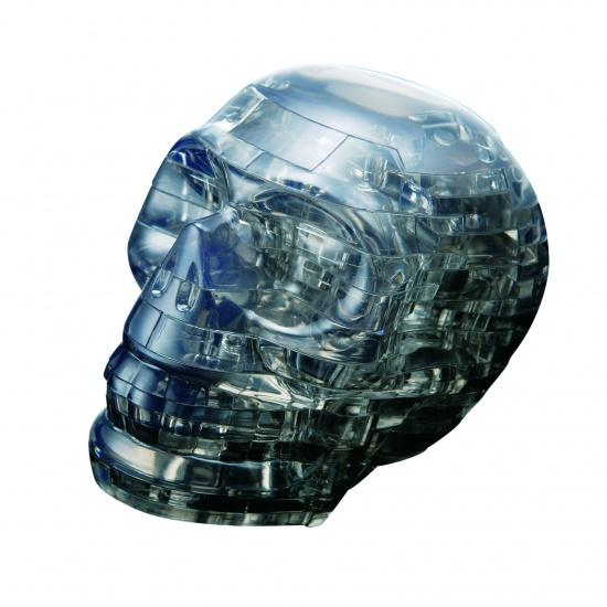 Crystal Puzzle 3D Doodshoofd Zwart: 48 Delig