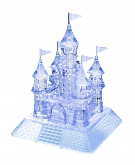 Crystal Puzzle 3D Kasteel Transparant: 105 Delig
