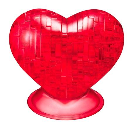 Crystal Puzzle 3D puzzel hart 46 stukjes