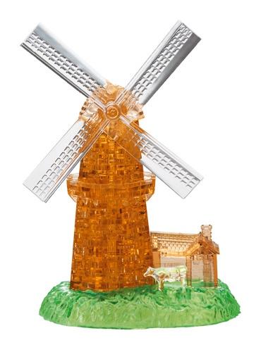 Crystal Puzzle 3D puzzel windmolen 64 stukjes