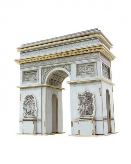 Cubic Fun 3D Puzzel Arc Triomphe 26-delig