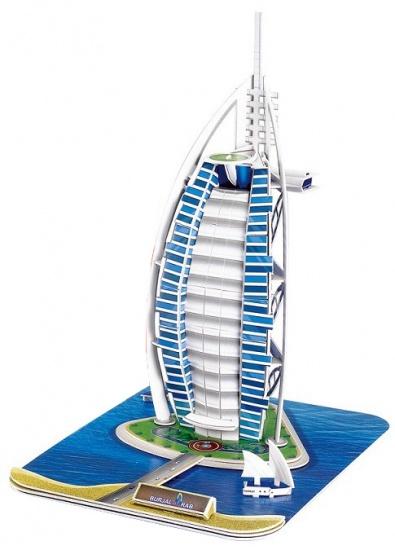 Cubic Fun 3D Puzzel Burj Al Dubai 37-delig