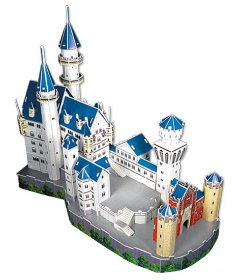 CubicFun 3D puzzel Slot Neuschwanstein 98 delig