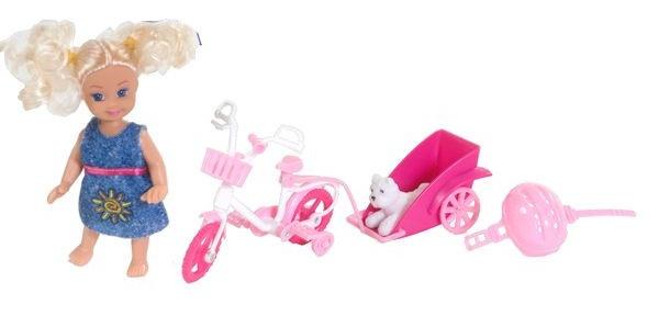 VDM Cute Girl fiets speelset