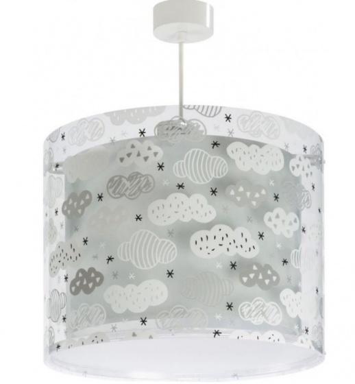 Dalber hanglamp Clouds 26 cm grijs kopen