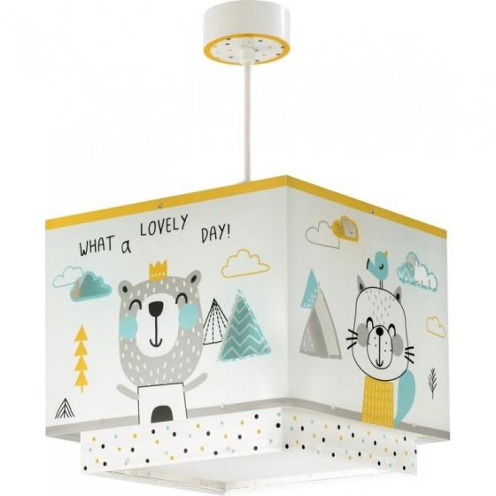 Dalber hanglamp Hello Little 26 cm wit kopen