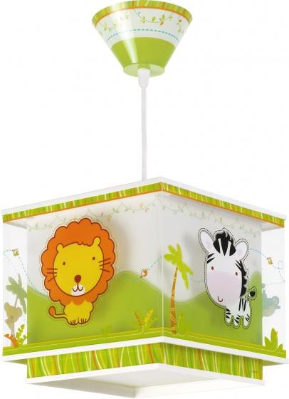 Hanglamp vierkant Little Zoo