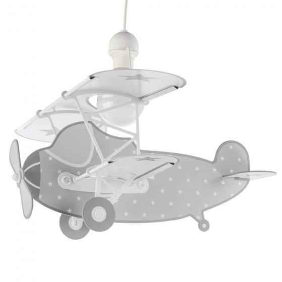 Dalber hanglamp Plane 50 cm grijs kopen