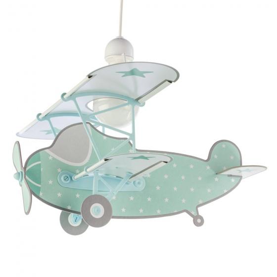 Dalber hanglamp Plane 50 cm groen kopen