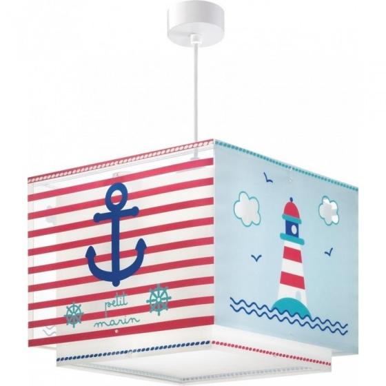 Dalber hanglamp Shade Petit Marin 25 cm rood/blauw kopen