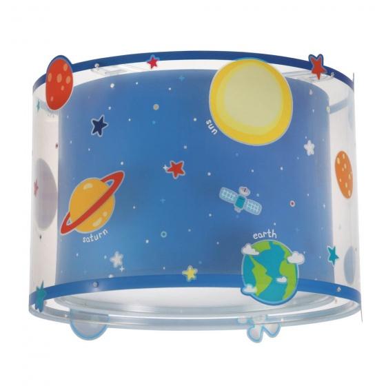 Dalber hanglamp Shade Planets 25 cm blauw kopen