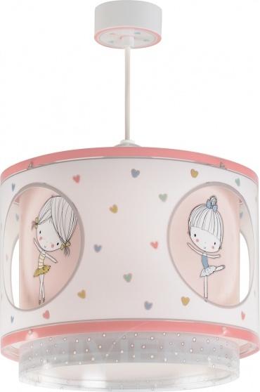 Dalber hanglamp Sweet Dance 26 cm roze kopen