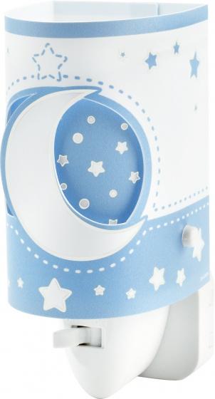 Baby led-nachtlampje Stars, lichtblauw