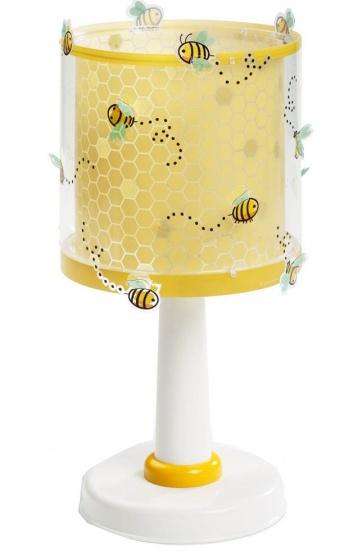 Dalber tafellamp Bee Happy 29 cm geel kopen