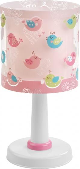 Dalber tafellamp Birds 30 cm roze kopen
