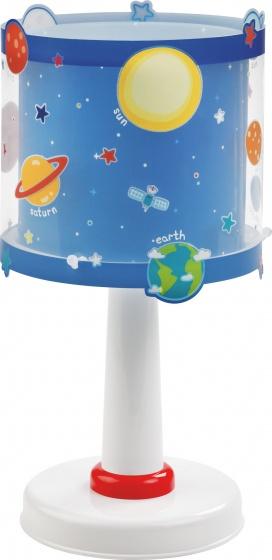 Dalber tafellamp Planets glow in the dark 30 cm blauw kopen
