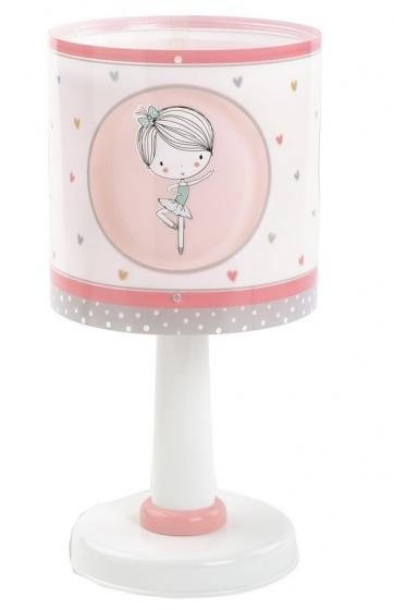 Dalber tafellamp Sweet Dance 30 cm roze kopen